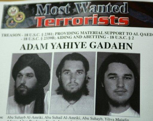 Gadahn most wanted