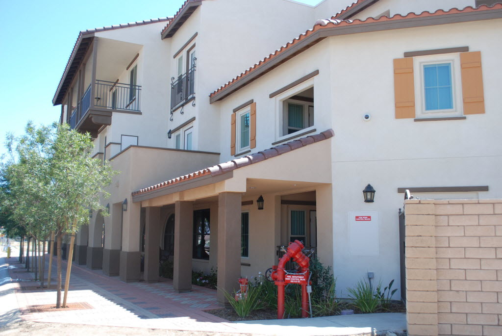 752193 bytes; 3872 x 2592; An exterior view of the Mercado Apartments at 832 D Street.